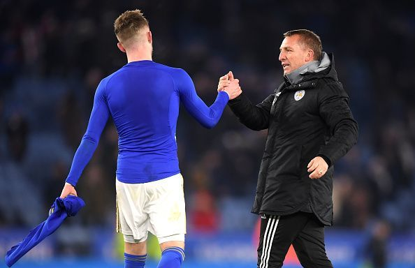 """Brendan Rodgers has ruled out a January move for """"very talented"""" Maddison"""