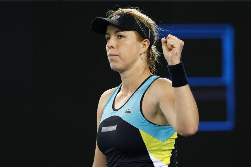Anastasia Pavlyuchenkova is through to the quarter-finals at Melbourne