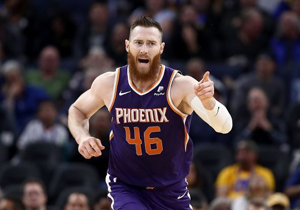 Aron Baynes has been linked with a trade away from the Phoenix Suns