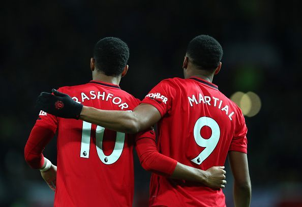 Manchester United strolled to a 4-0 victory against Norwich City