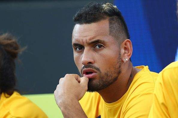Nick Kyrgios won both his matches in the group stage