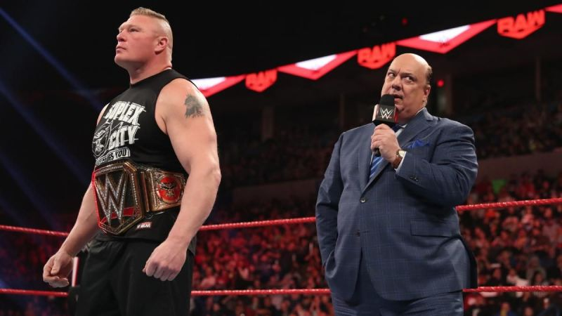 Brock Lesnar opened RAW in 2020