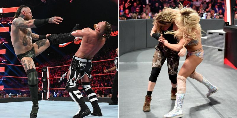 There were some interesting botches last night on RAW