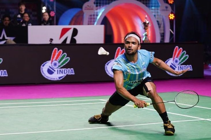 Subhankar Dey will likely play his singles match against Parupalli Kashyap in the tie (Image Credits - PBL)
