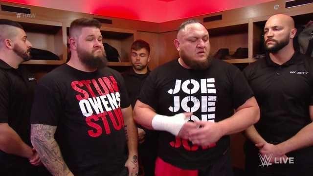 Kevin Owens and Samoa Joe could be handed a fantastic partner