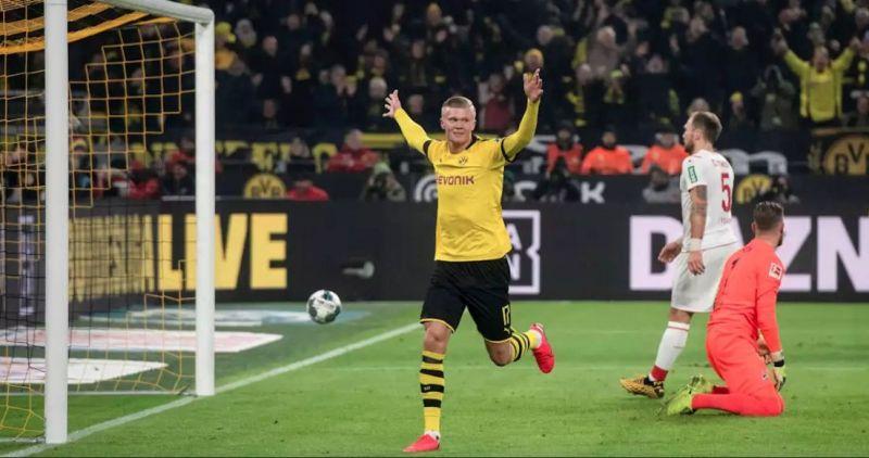 Haaland has made an immediate impact at Dortmund
