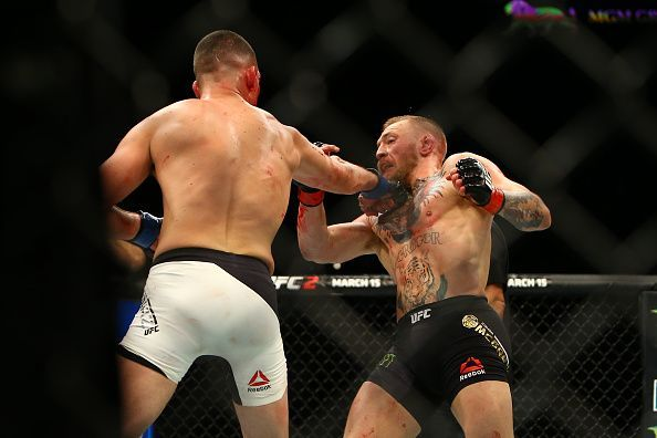 The first Nate Diaz fight pointed out the glaring holes in McGregor