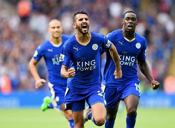Riyad Mahrez was arguably Leicester