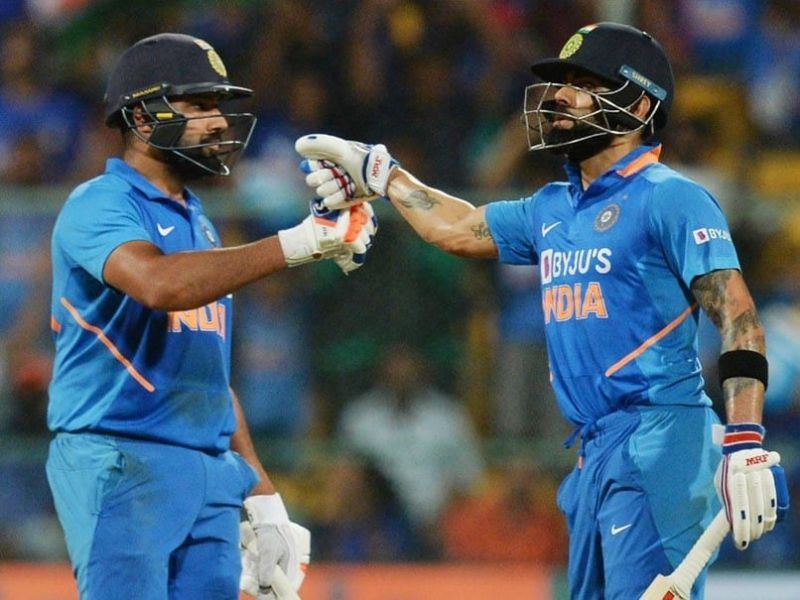 Virat Kohli and Rohit Sharma consolidate their positions in the ICC ODI rankings for batsmen