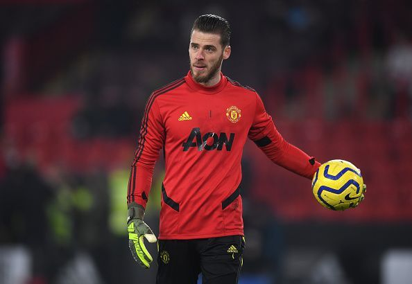 David de Gea has committed six errors leading to goals since the start of last season