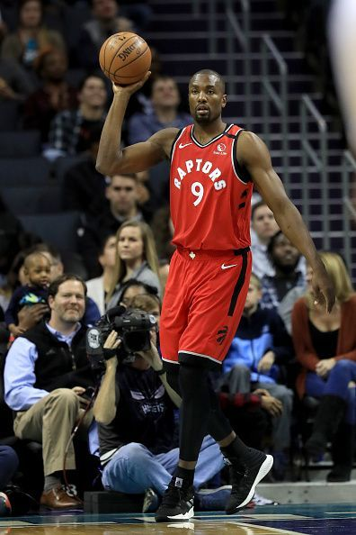 Serge Ibaka made two clutch free throws in their OT win against the Hornets