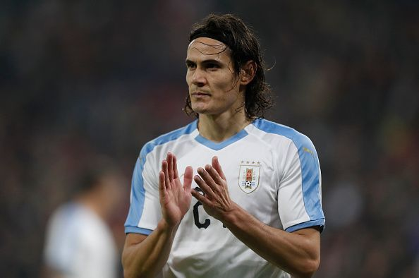 Edinson Cavani has been heavily linked with an exit from PSG