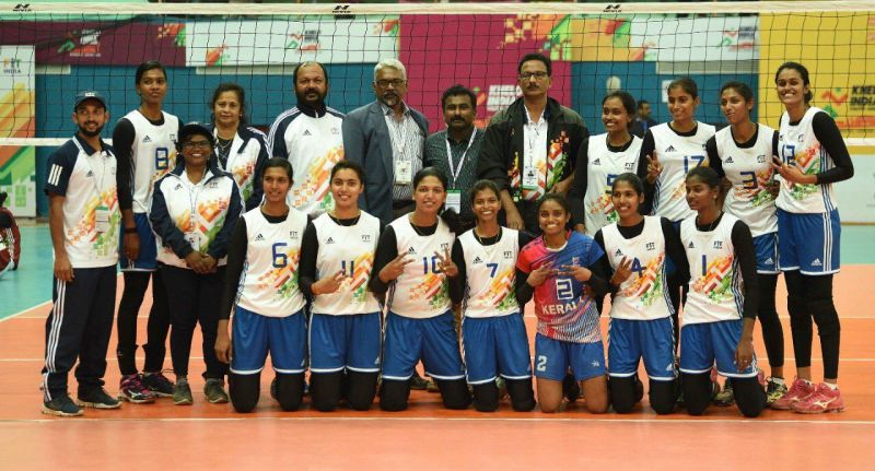 Kerala won the gold medal in U-21 women