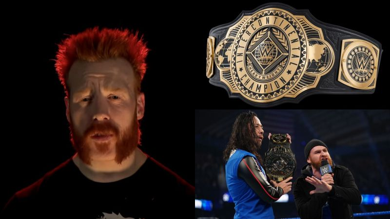 Sheamus says he wants the Intercontinental Championship
