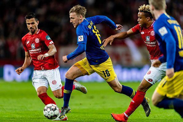 1. FSV Mainz 05 v RB Leipzig - Bundesliga For NIKE