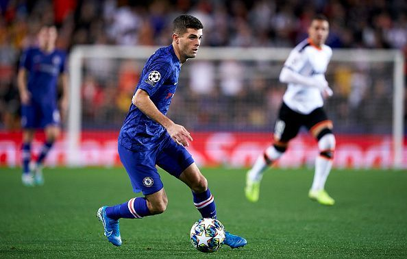 Chelsea will be sweating over the fitness of Christian Pulisic