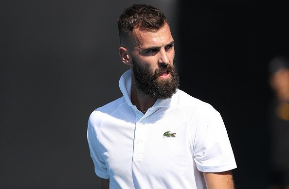 Benoit Paire is the highest remaining seed in the top half of the draw.