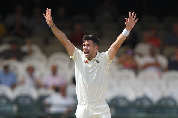 James Anderson is 16 more wickets short of claiming 600 Test victims.