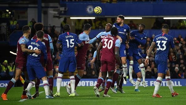 Olivier Giroud is out of favour at Chelsea