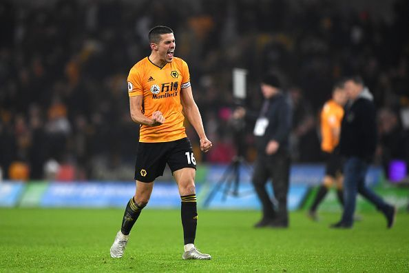 Conor Coady was imperious at the back for Wolves