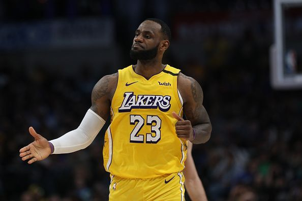 LeBron James has missed just two games this season