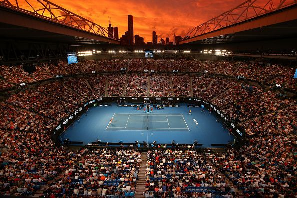 The Australian Open begins from 20th January