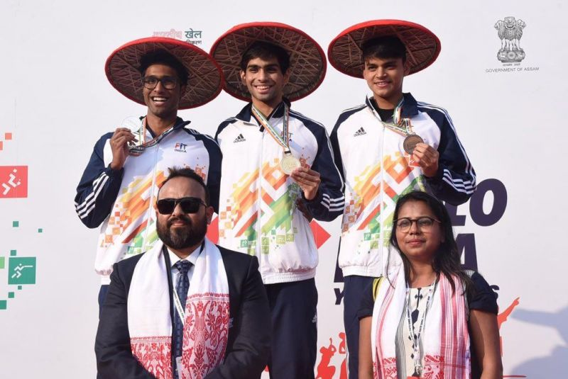 Shooting event - Khelo India Youth Games 2020