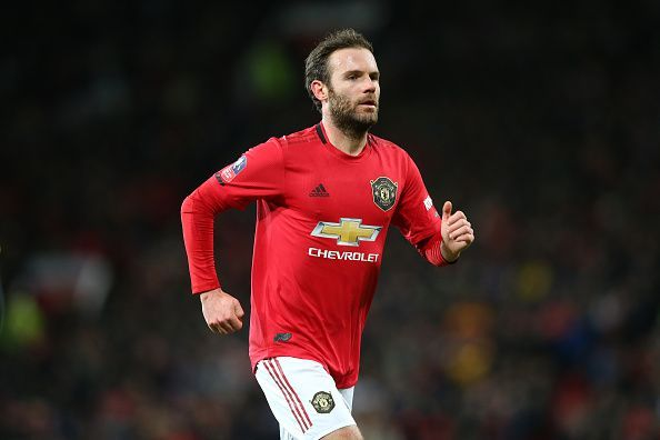 Juan Mata was a waste in the right-midfield position against Burnley