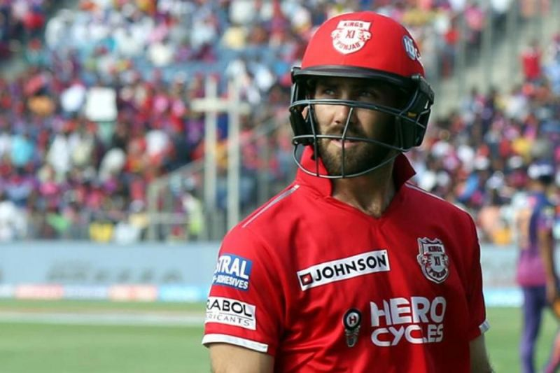 Glenn Maxwell returns to his former team KXIP after 3 years