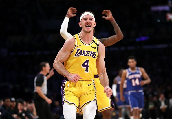 Alex Caruso has performed some of the most impressive dunks of the season so far