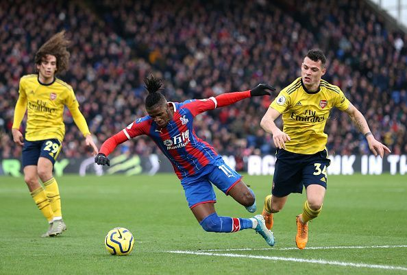 Crystal Palace produced a gritty second-half performance