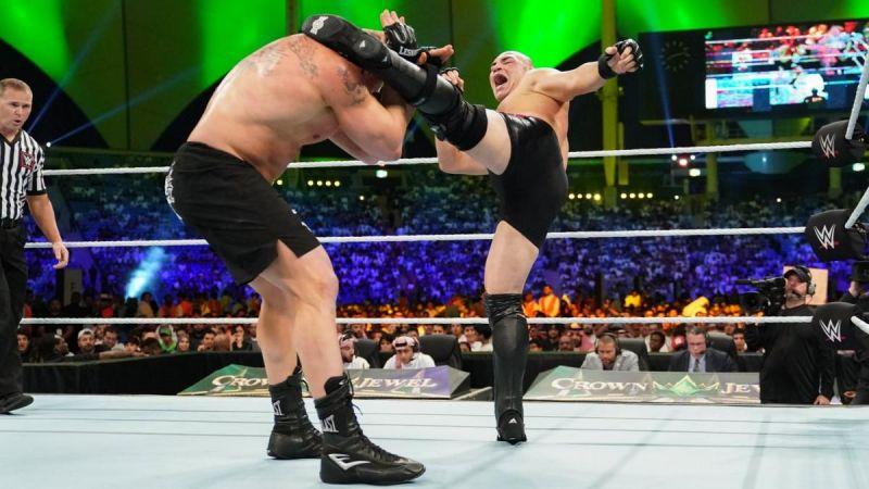 Brock Lesnar vs. Cain Velasquez at Crown Jewel