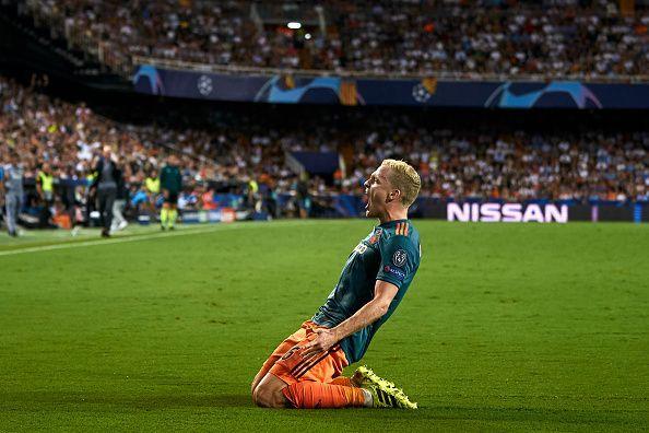 Van de Beek is Madrid-bound if recent reports are to be believed.