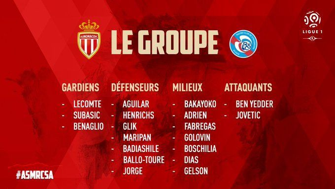 Slimani was not included in the matchday squad for Monaco