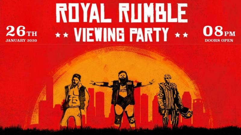 Hooked on Wrestling will host several Royal Rumble viewing parties