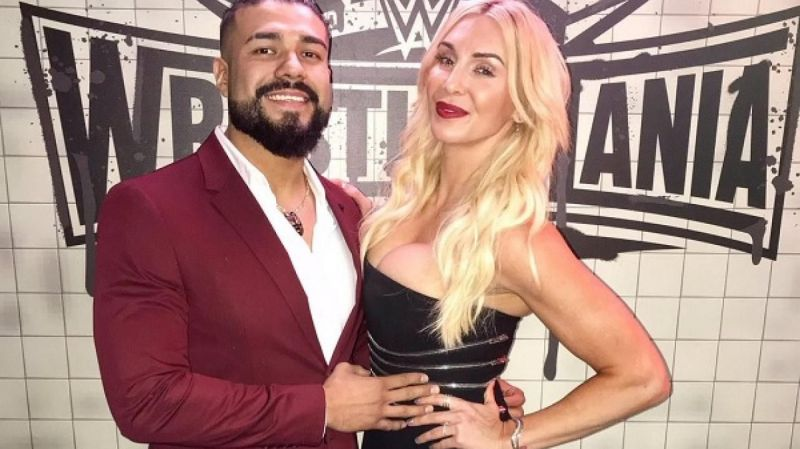 Charlotte Flair and Andrade got engaged on New Year