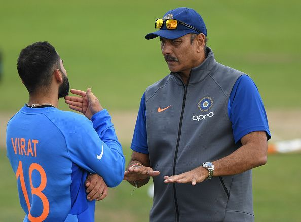 Ravi Shastri explained his role as the head coach of the Indian team