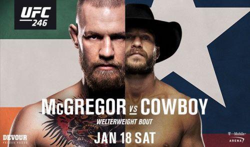 Ufc 246 Mcgregor Vs Cowboy Predictions And Picks