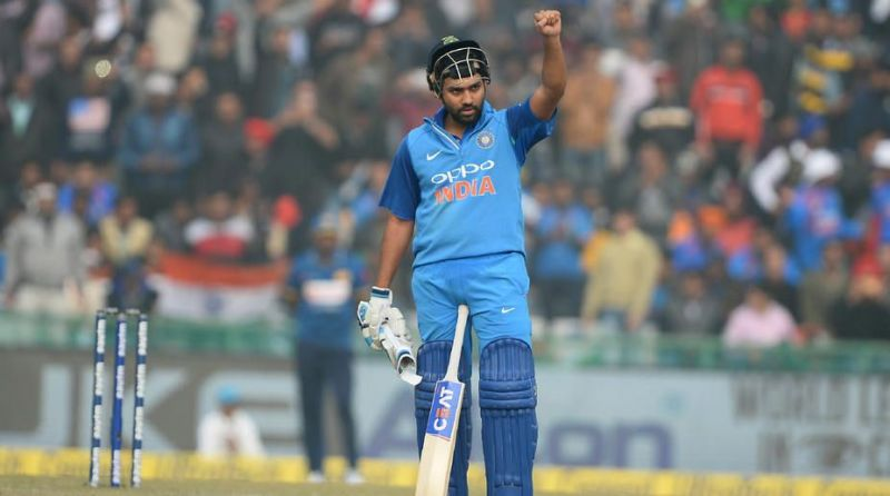 Rohit Sharma scored his third ODI double hundred in his very first series as the Indian captain