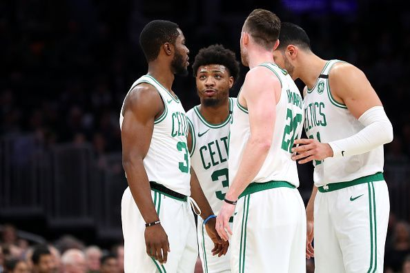 The Celtics have lost three consecutive games