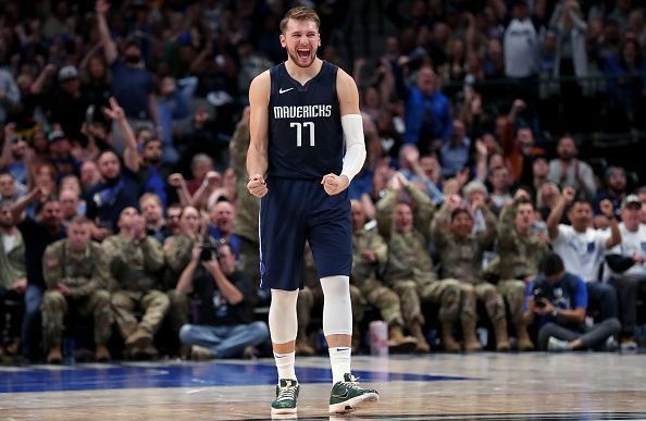 Statistically, Doncic is the best sophomore we