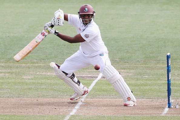 Chanderpaul went about his business like a monk