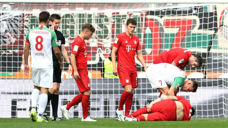 The Bayern Munich defence is in a crisis with injuries to Niklas Sule and Lucas Hernandez