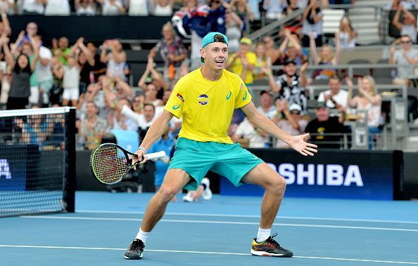 Alex de Minaur has been in fine form coming into this year