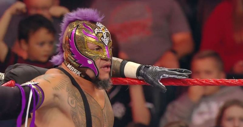 The audio ruined Rey Mysterio