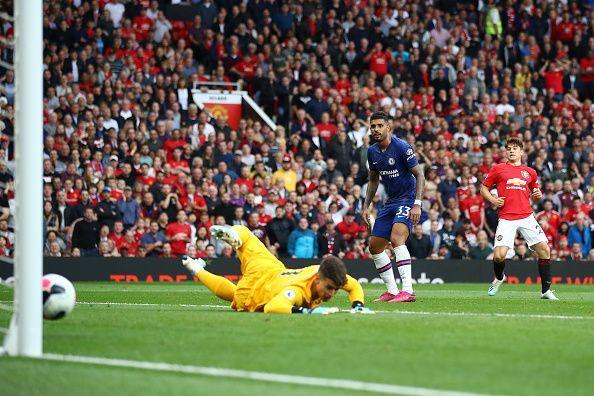 Daniel James had a scoring debut for Manchester United v Chelsea