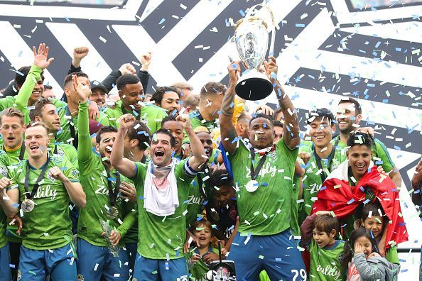 Seattle Sounders are the defending champions of the MLS Cup