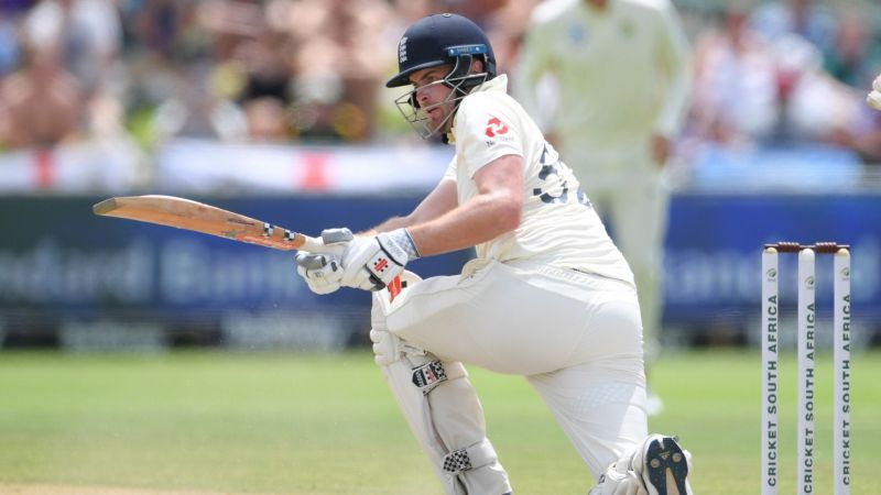 Dom Sibley scores his first Test century