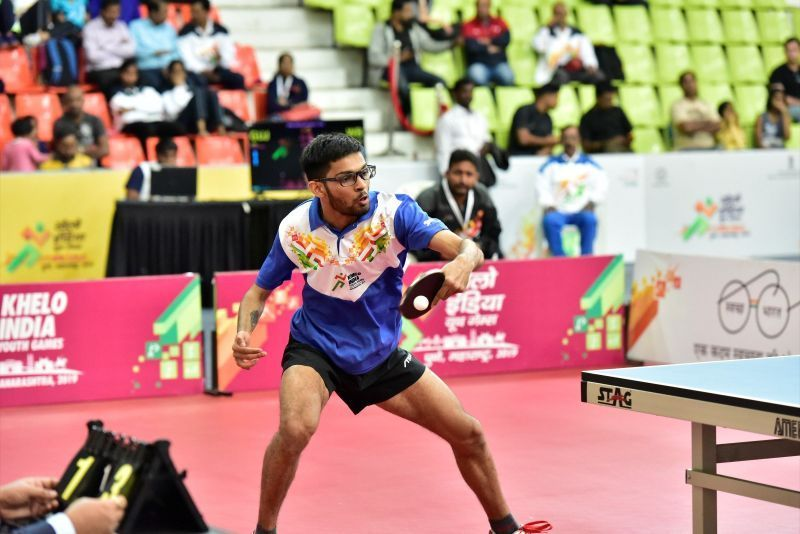 Table tennis action came to an end at the Khelo India Youth Games 2020 in Guwahati, Assam