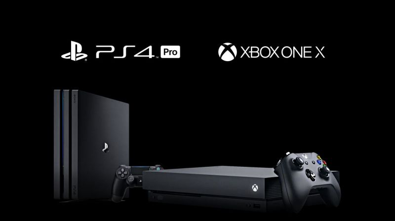 Xbox One X and PS4 Pro.